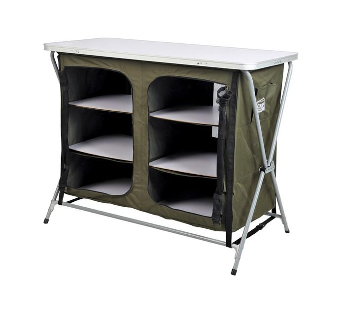 Campmaster 6-Shelf Camp Cupboard
