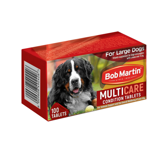 Bob Martin Condition Tablets Large (1 x 100's)