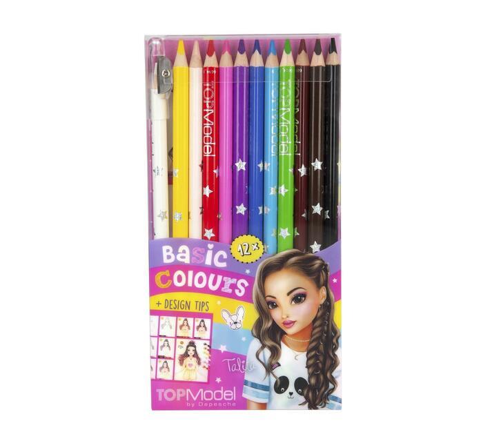 Top Model Colouring Pencil Set 12pc