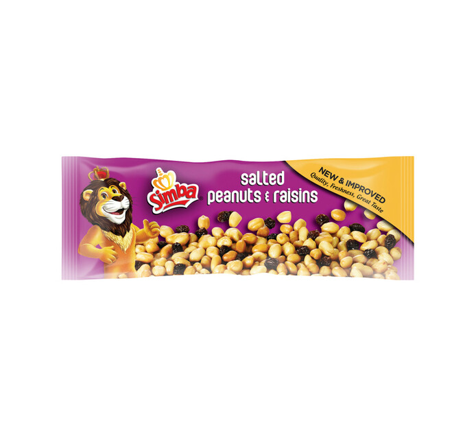 Simba Salted Snacks Peanuts & Raisins (1 x 60G)