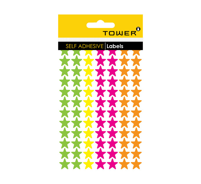 Tower Stars Fluorescent Colour Mix Pack