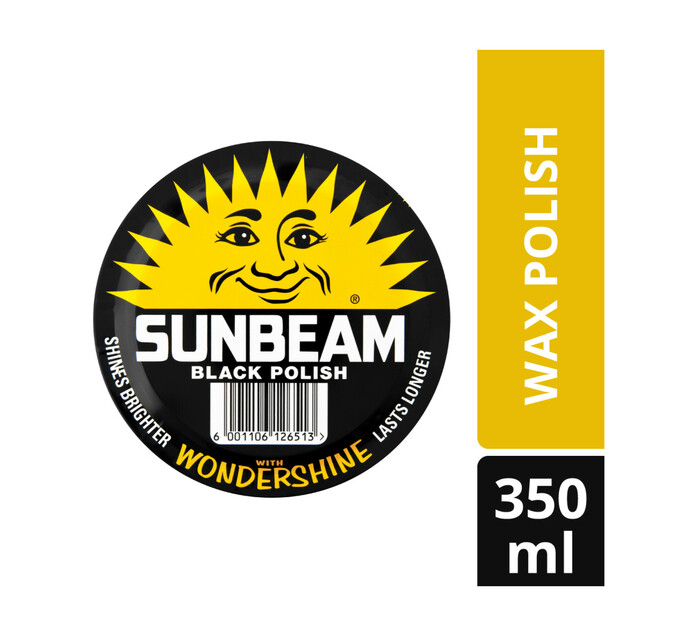 Sunbeam Paste Black (6 x 350ml)