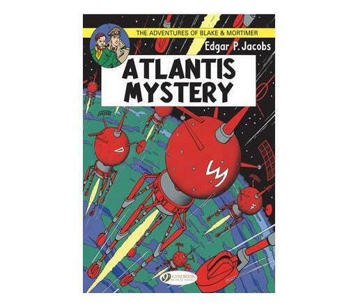 The Adventures of Blake and Mortimer: Atlantis Mystery v. 12