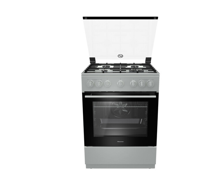 Hisense 600 mm 4-Burner Gas/Electric Free-Standing Stove