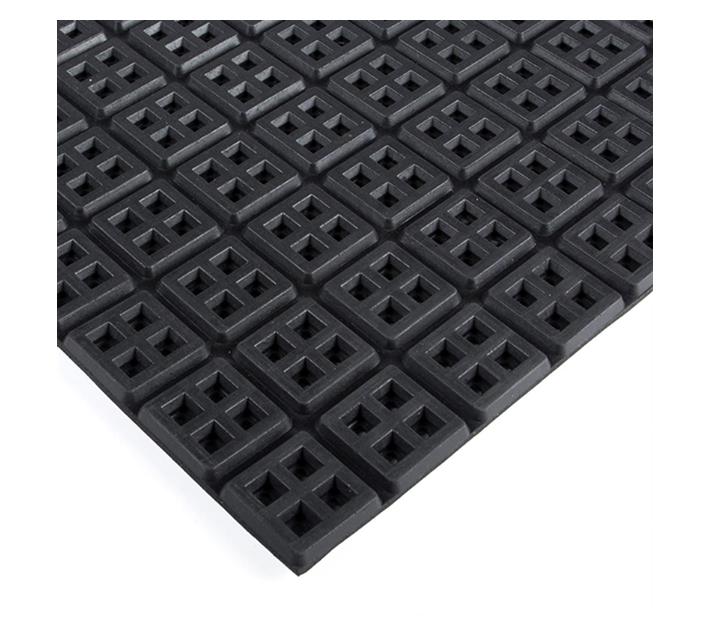 Rubber Ringmat Comfort 10mm 1200x800 Open Black