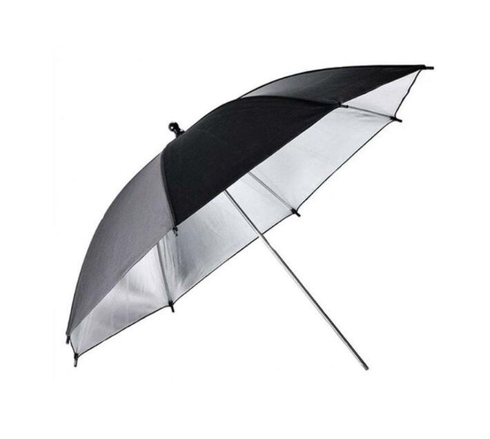 T4U Black Silver Reflective Flash Umbrella 33`/84cm