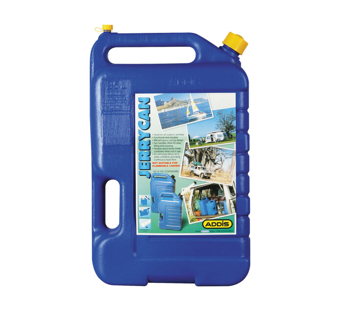 Addis 25 l Plastic Water Jerry Can