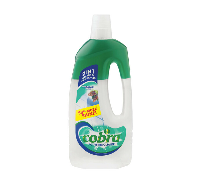Cobra Active Tile Cleaner Mountain (1 x 750ml)