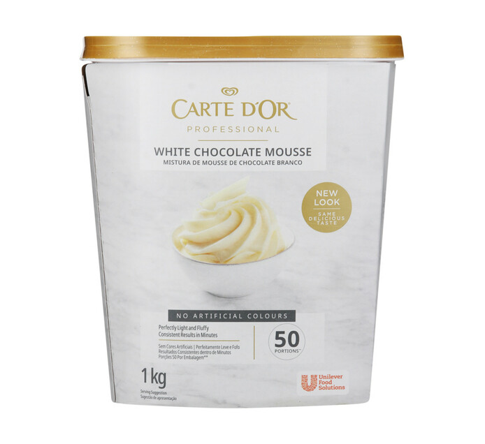 Carte D'or Chocolate Mousse White (1 x 1kg)