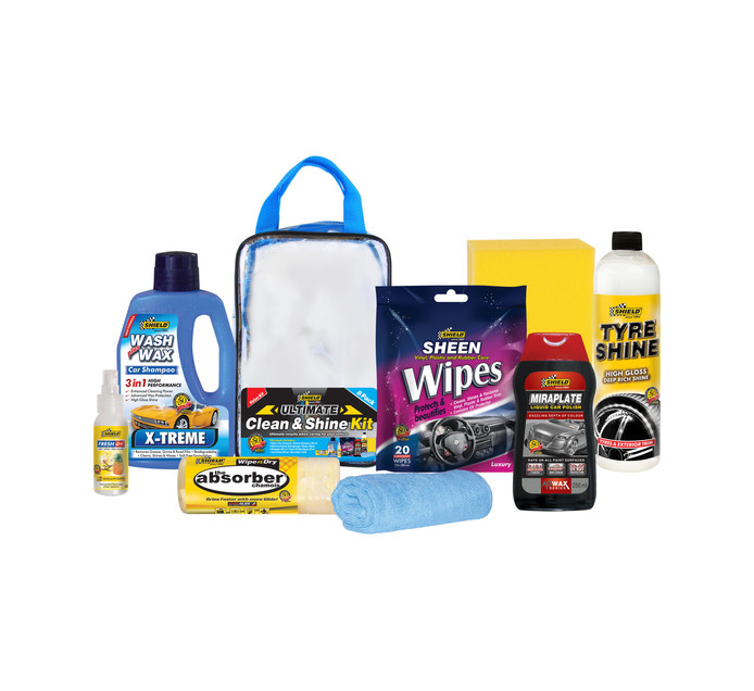 Shield 8-Piece Ultimate Clean & Shine Kit