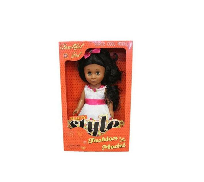Just Like Me Diverse Africa Fashion Doll - Pink Princess
