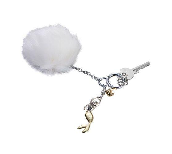 Troika Bag Charm with 3 Charms Mermaid