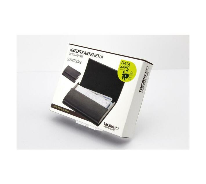 Troika Credit Card Case with RFID Fraud Prevention Technology Sophistcase