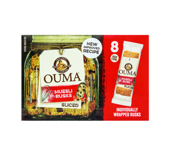 Ouma Single Rusks Muesli (8 x 30g)