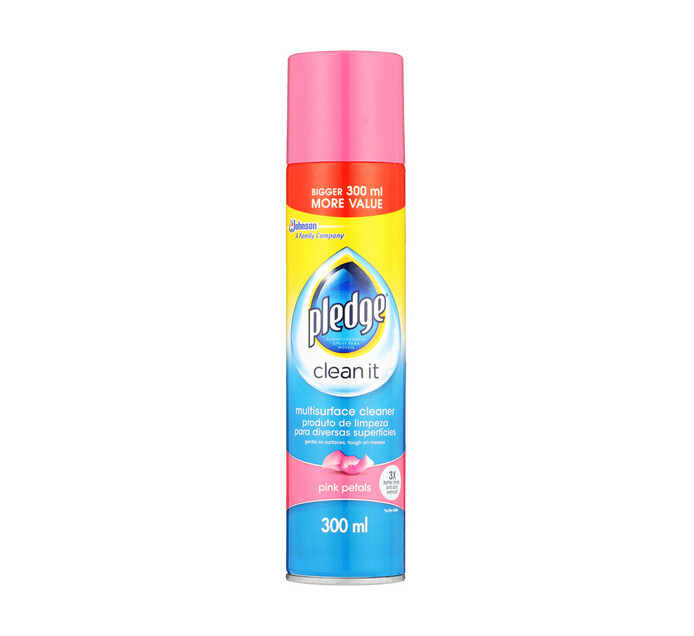 Pledge Multi Surface Cleaner Pink Petals (1 x 300ml)