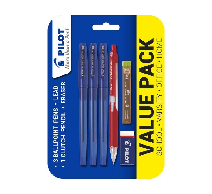 Pilot Progrex Value Pack Blue Ink Blue ink
