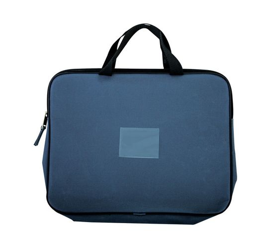 Kenzel A4 Book Bag with Handle Charcoal Charcoal