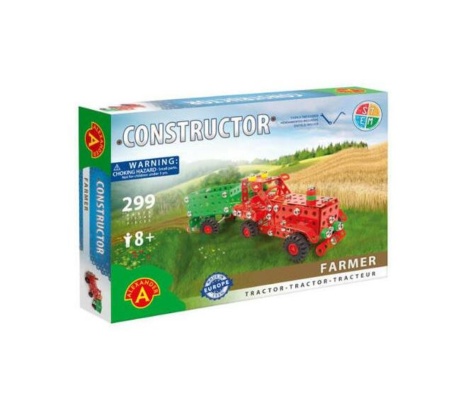 Constructor - Farmer - Tractor