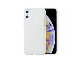 Goospery Soft Feel TPU Cover for iPhone 11 (White)