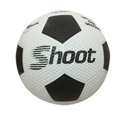 Shoot Size 4 Rubber Soccerball