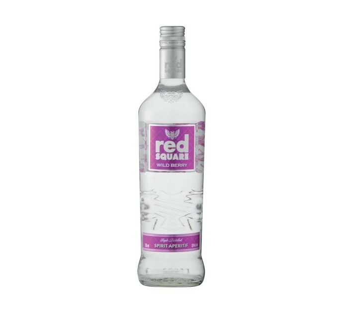 Red Square Infused with Wild Berries (6 x 750 ml)