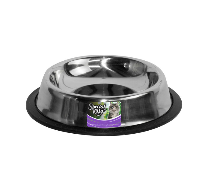 Special Kitty Cat Bowl Stainless Steel Stainless Steel (1 x 1's)