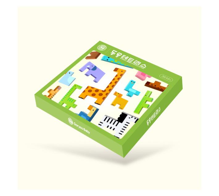 Goryeo Baby Animal Shape Tetris Block