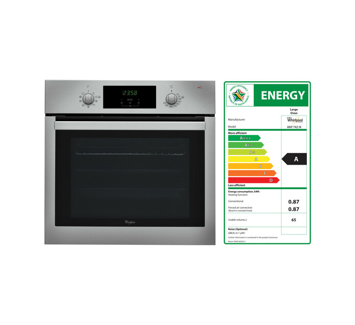 Whirlpool 600 mm Multifunction Eye-Level Oven