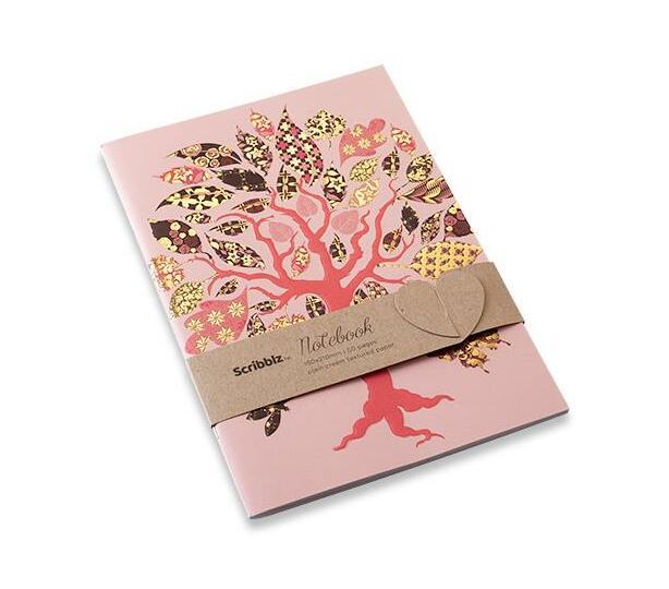 Scribblz A5 Tree Nootebook