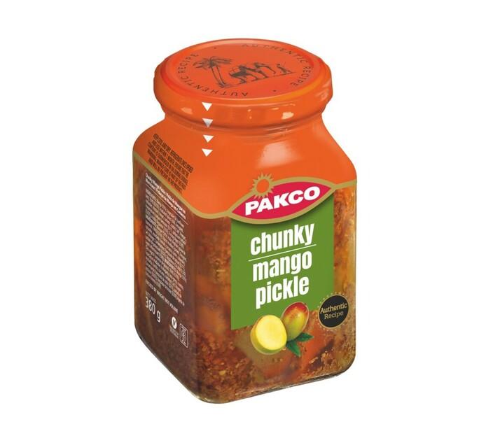 Packo Pickle Chunky Mango (6 x 380g)