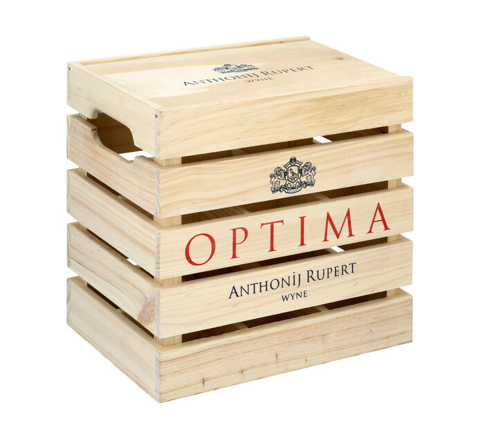 Anthonij Rupert Optima In Wooden Gift Crate (6 x 750ML)