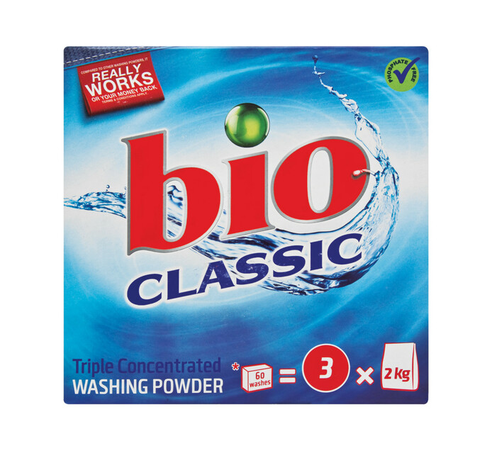 Bio Classic Triple Action Concentrate Washing Powder (1 x 1.5kg)