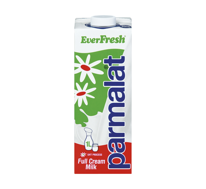 Everfresh UHT Milk Full Cream (6 x 1L)