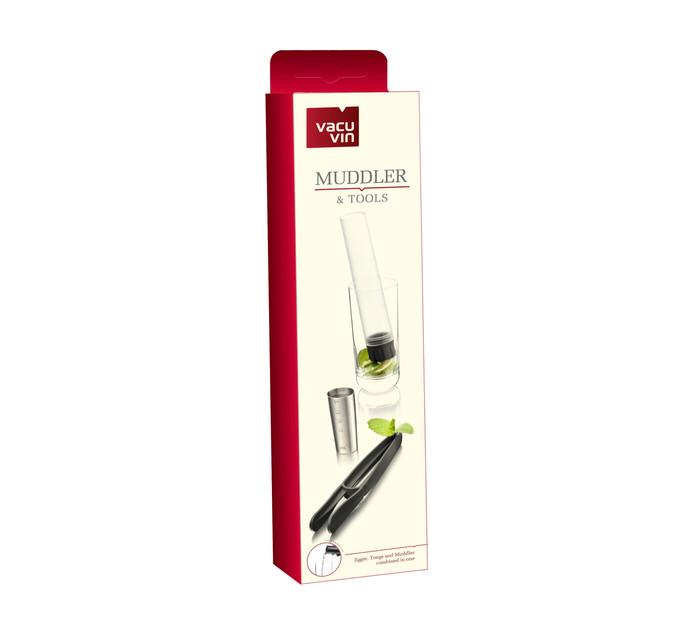 Vacu Vin Muddler & Bar Tools 3pc Set