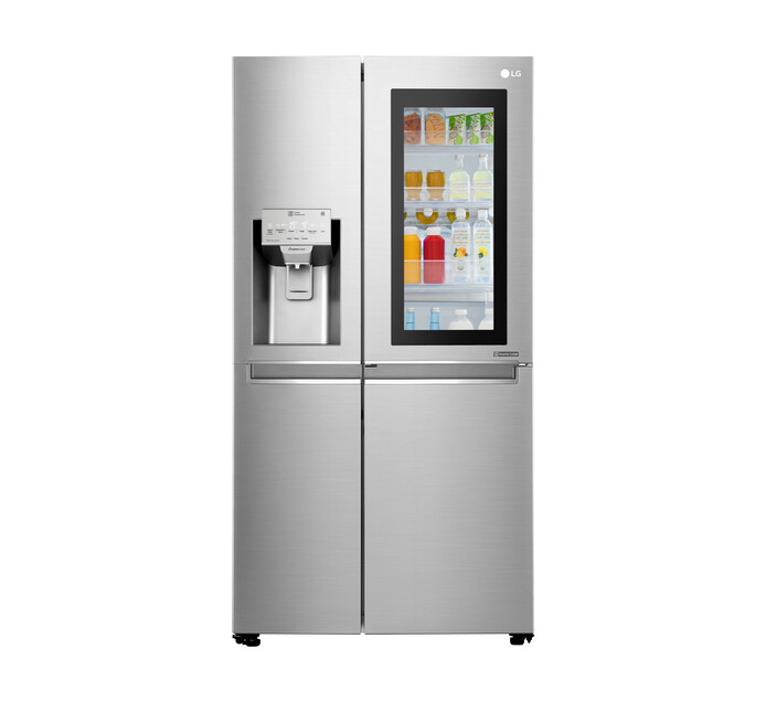 LG 601 l InstaView Side-by-Side Fridge/Freezer