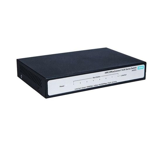 HPE OfficeConnect 1420 8G - switch - 8 ports - unmanaged - desktop