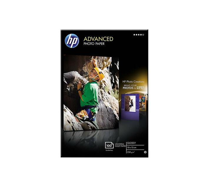 HP Advanced Glossy Photo Paper Glossy photo paper 100 x 150 mm 250