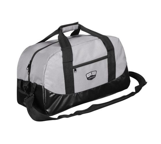 Volkano Notties Series Duffle Bag in Grey and Black with 70 Litre Capacity