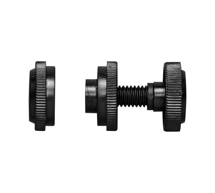 Decor Depot 25 mm Curtain Rod 16-25 mm Simplifit Bracket Black