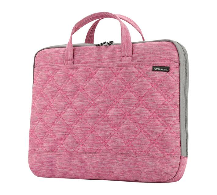 Kingsons Trace Series 15.6` Ladies Bag - Pink
