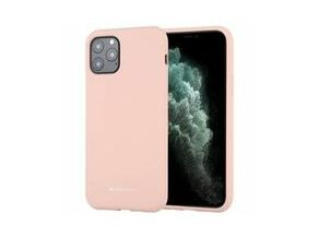 Goospery Silicone TPU Cover for iPhone 11 Pro Max (Pink)