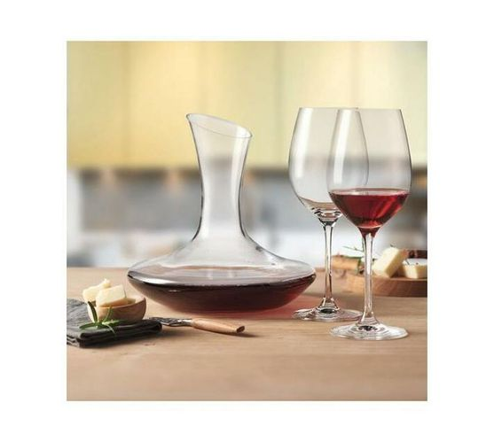 Leonardo Red Wine Decanter & Glasses BARCELONA Set 3 Pieces