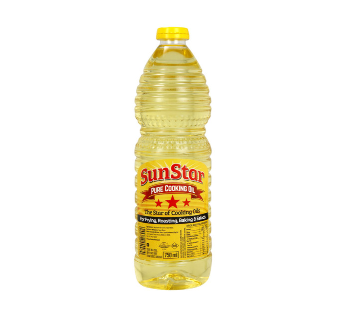 Sunstar Cooking Oil (12 x 750ml)