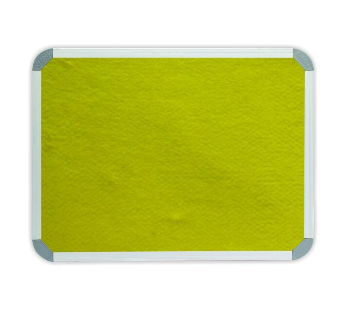 PARROT PRODUCTS Info Board (Aluminium Frame, 900*900mm, Yellow)