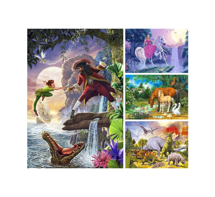 24-Piece Board Puzzle 24-Piece