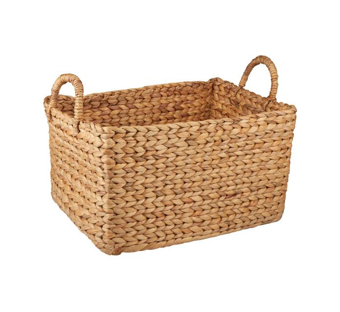 Large Evo Hyacinth Rect Basket