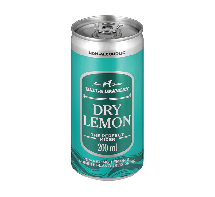 Hall & Bramley Dry Lemon (24 x 200ml)