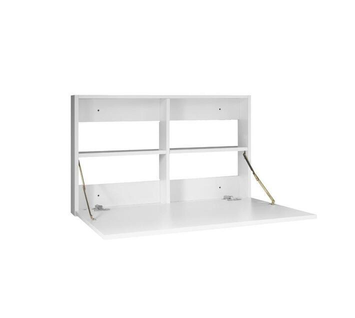 Wall Mounted Desk in Melamine White