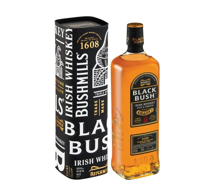 Bushmills Black Bush Irish Whiskey (1 x 750 ml)