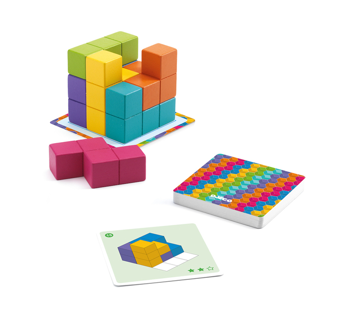 Djeco Educational Game: Cubissimo